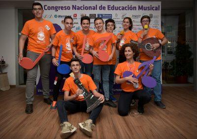 Foto del grupo de miembros de Estación JdeK en el Congreso Con Euterpe 2019