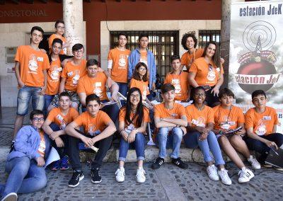 Foto de miembros de Estación JdeK en las Jornadas Solidarias de Tordesillas 2017