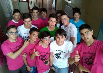 Algunos de los participantes de EscaramuZAS 2017